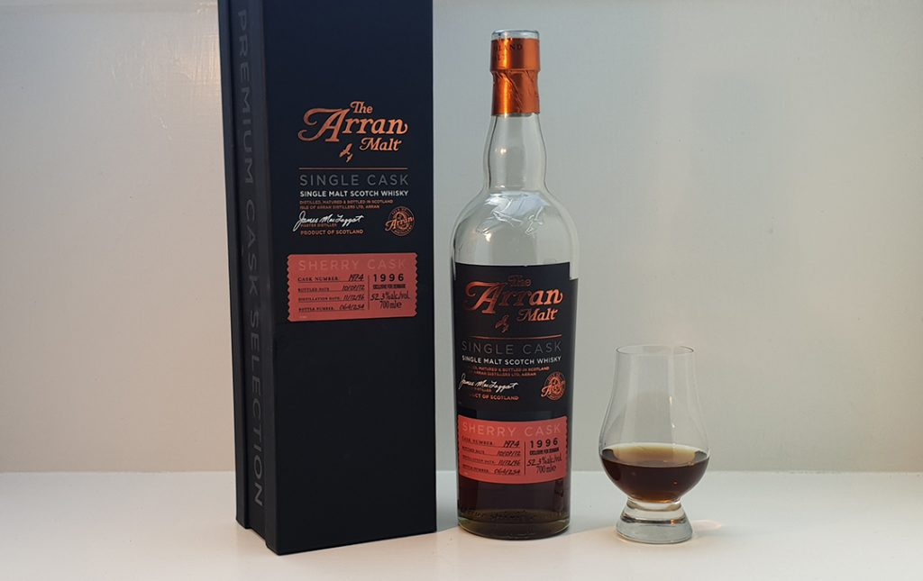 Arran Single Sherry Cask 1996