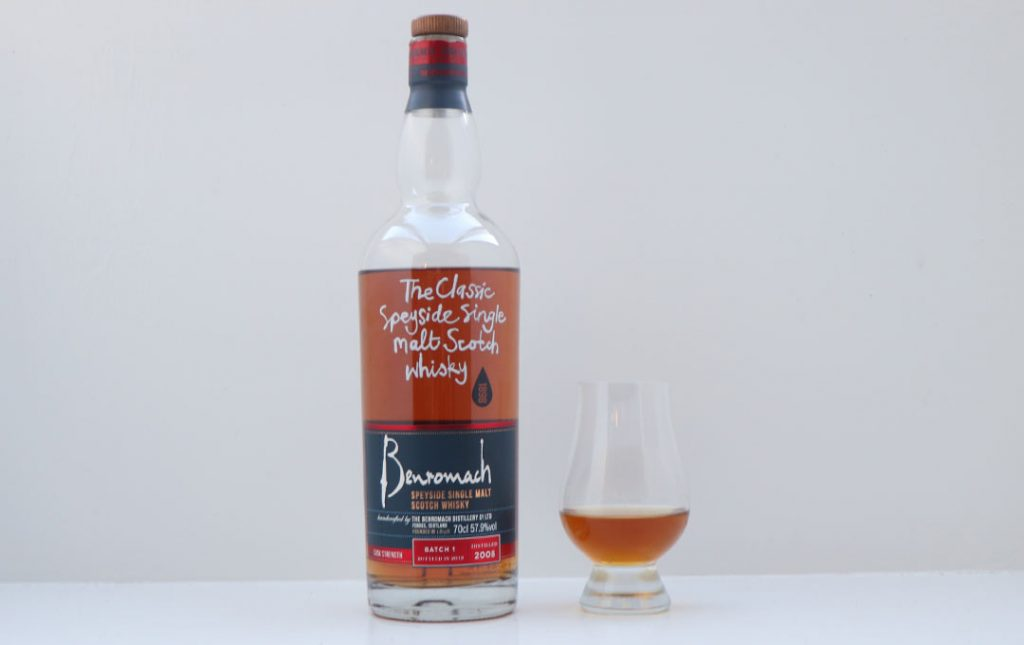 Benromach Cask Strength Batch 01 2008