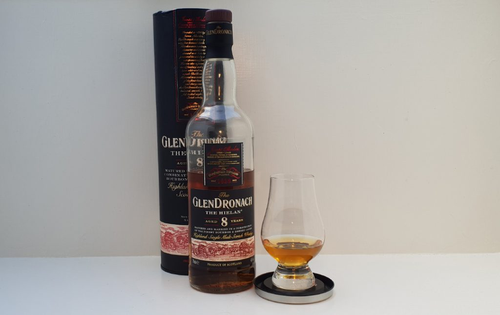 Glendronach 8 års Single Malt Whisky