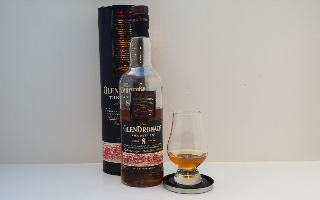Glendronach 8 års Single Malt Whisky
