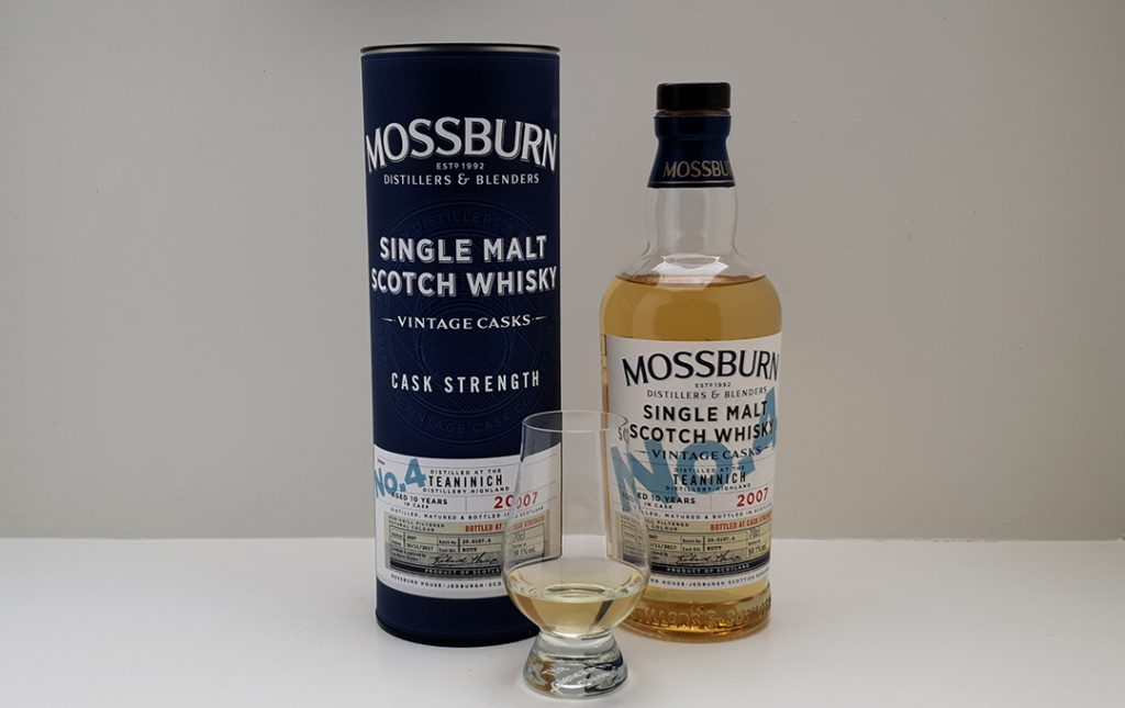 Mossburn Cask Strength 10 års (No. 4)