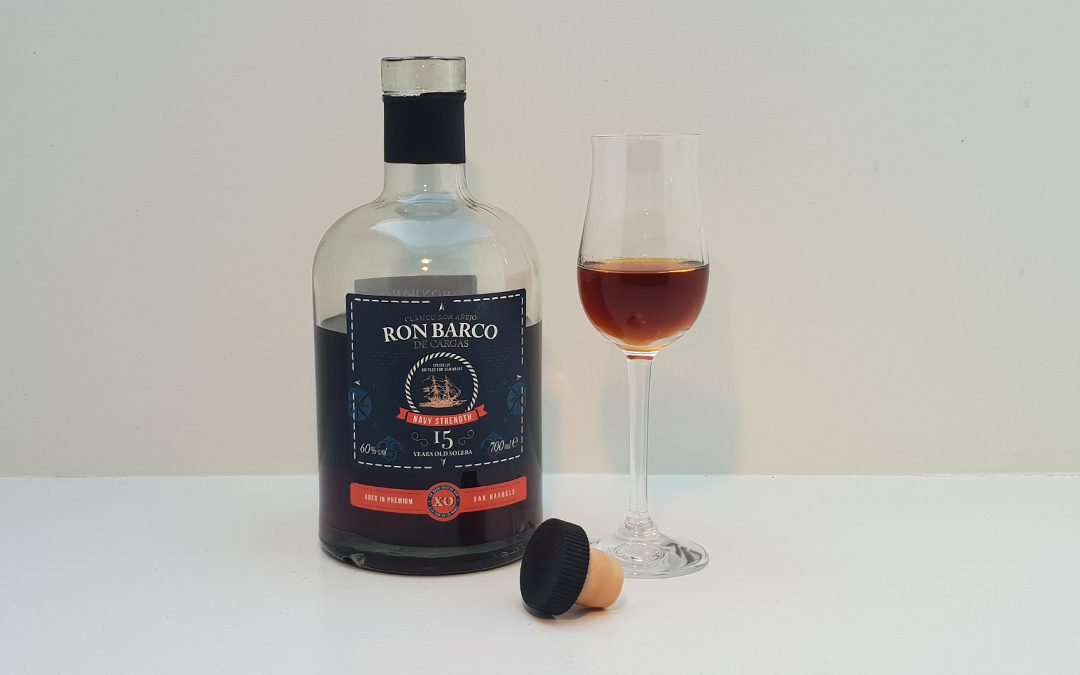 Ron Barco 15 års Solera XO Navy Strength