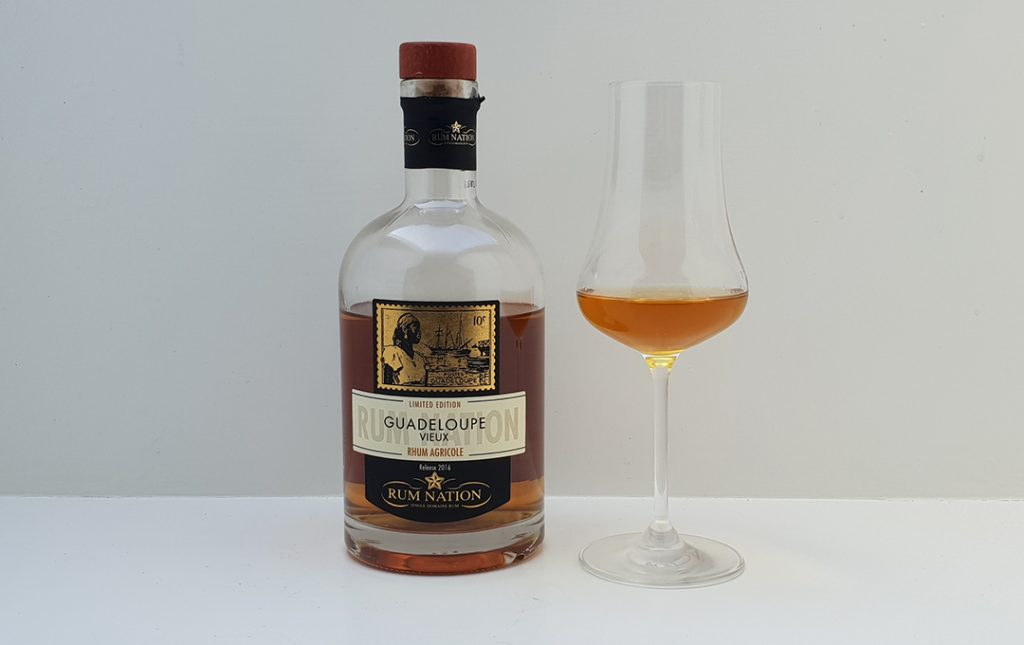 Rum Nation – Guadeloupe Vieux Rhum Agricole 40%