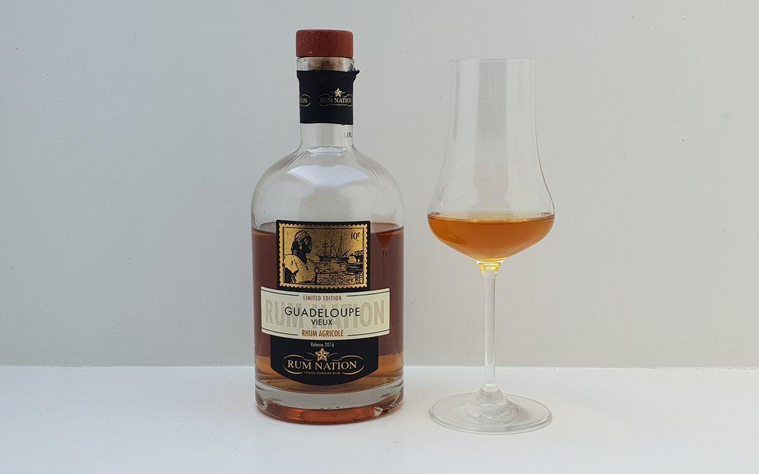 Rum Nation – Guadeloupe Vieux Rhum Agricole 40%