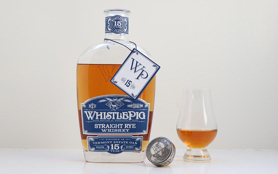 Whistlepig 15 års Straight Rye Whiskey