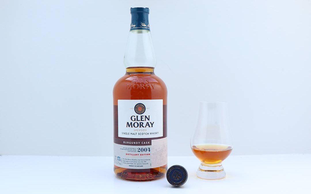 Glen Moray Distillery Edition 2004 Burgundy Cask